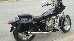 GZ250 Marauder Motorcycle in exc. cond.$3500.00 Only 1400km.Call