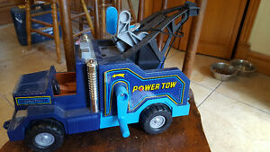 "blue ""Power Tow"" Fisher Price toy tow truck Kingston Kingston Area image 3"