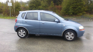 2007 Chev Aveo One Owner