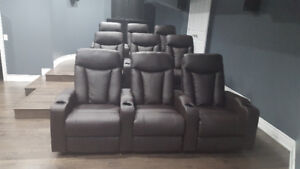 electric recliner with cup holders, theater chairs, holiday spec