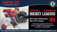 Hockey League: Looking for Individual Players for Spring/Summer