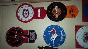 Man Cave Signs and Clocks