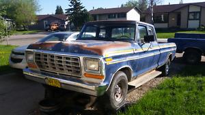 1978 1/2 Ford f100 Rwd