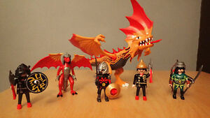 Playmobil dragons and warriors (5583 & 5563) for sale