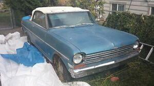 62 chevy II Nova Convertible For Sale