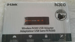 D Link wireless N300 sub adapter