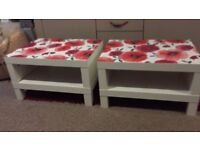 x2 Matching Coffee Tables