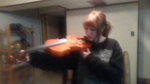 Beginners adult violin