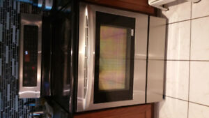 LG stove,  Electric stainless, LRE6383ST,  Maintenance required