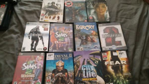 PC games for sale!