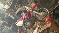 I have a 05 crf 70 grate working order trade for?