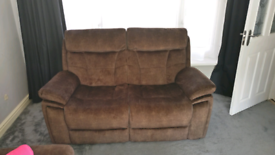 Scs 2 seater sofa. Practically new