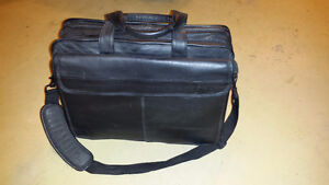 Genuine leather executive laptop carrying case London Ontario image 1