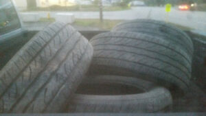 Dunlop M / S tires all 4 275/55/20r $300 obo