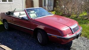 1990 Chrysler LeBaron convertible (Reduced) plus more...