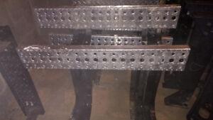 Marche-pied complet en aluminium avec marche chromé