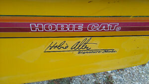 Ready to sail Hobie 16 with trailer