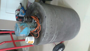 Electric Sump pump Complete with housing basement