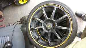Tires on 17 inch low profile rims