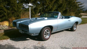 1968 Pontiac Lemans Convertible GTO Tribute