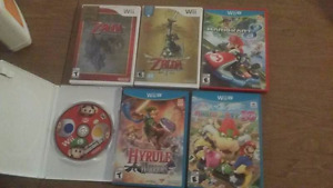 SELLING WII GAMES MARIO, ZELDA, MASS EFFECT MORE