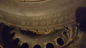 215/60 R16 Michelin Winter Tires and Rims+2 Extra Tires London Ontario image 2