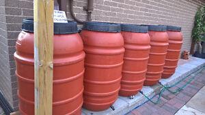 Rain Barrel, Plastic, 220 Litre