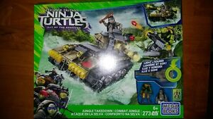 Mega Bloks TMNT Teenage Mutant Ninja Turtles Jungle Takedown 273