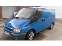 2002 52 FORD TRANSIT 2.0 280S 1D 75 BHP 12 MONTHS MOT / CLEAN PART X VAN NO VAT