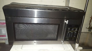 Large microwave for over oven