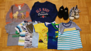 Kids clothes 18 months. 5$ for all.