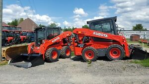 ALL New Kubota Skid steer - Track Loaders and Excavators
