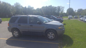 Ford escape XLT 4WD 2007