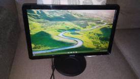 """Dell 20"""" Widescreen Computer Monitor Screen Moniter"""