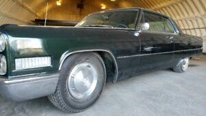 1966 cadilac coupe deville original low mile car
