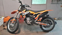 2013 ktm 450 sxf  for sale or trade for small car or snowmobile
