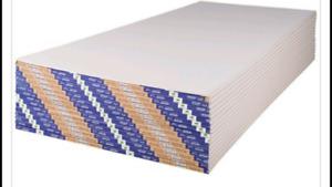 2 panneaux de Gypse 1/2 × 4 × 12