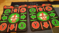 Dance Dance Revolution and pads for original xbox