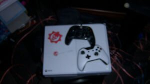 xbox one , 5 games ,2 controlers