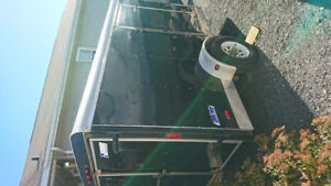 2001 Pace enclosed trailer