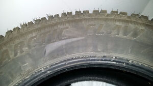 4 Studded Winter Tires - 245/60R18