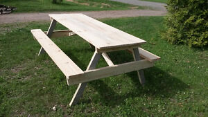 Homemade Picnic Table- NEW