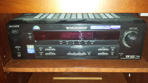 Sony 5.1 surround for sale received + speakers & sub
