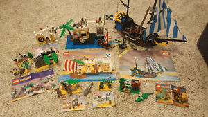 Vintage Lego Pirates Complete Sets