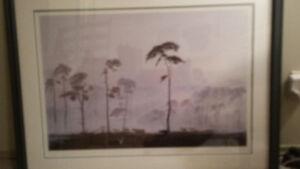 2 framed prints.  large.  $20 each or both for $30 OBO