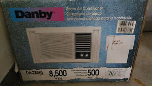 Room Air Conditioner (Danby) almost New in the original box