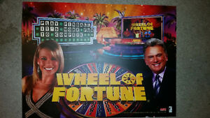 PINBALL TRANSLIGHT OF WHEEL OF FORTUNE IN MINT CONDITION!!!!!!!! London Ontario image 2