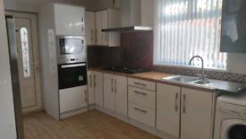 Kitchen cabinets units white gloss