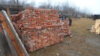 RED Clay bricks For SALE