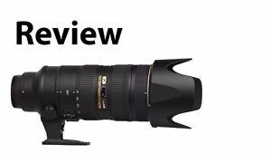 AF-S NIKKOR 70-200mm f/2.8G ED VR II Camera Lens